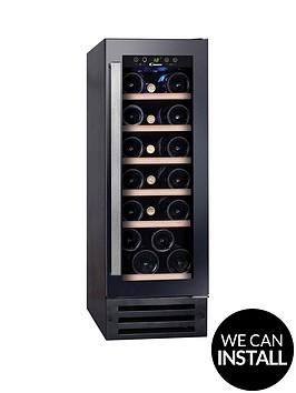 candy-ccvb30uk-30cm-integrated-wine-fridge-with-optional-installation-black