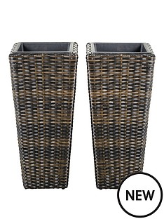 set-2-rattan-effect-planters-tall-60cms-h