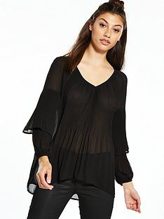 river-island-pleated-blouse