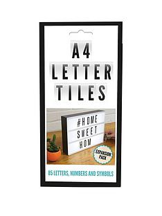 85-piece-blackwhite-letter-pack-for-cinematic-message-board