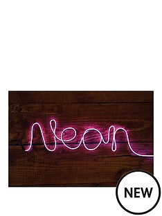 make-your-own-neon-effect-sign-pink