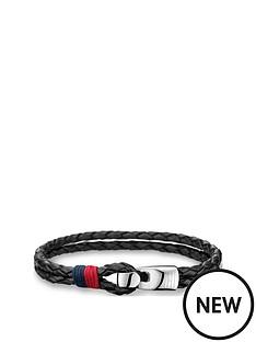 tommy-hilfiger-tommy-hilfiger-mens-black-leather-bracelet