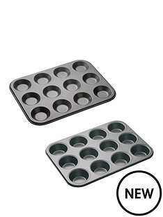 master-class-master-class-non-stick-twelve-hole-baking-set