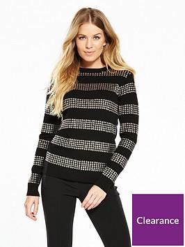 v-by-very-stud-stripe-detail-jumper