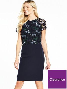 phase-eight-margo-lace-dress-midnight