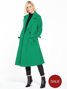 vero-moda-siena-coat-pepper-green