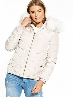 miss-selfridge-padded-jacket-nude