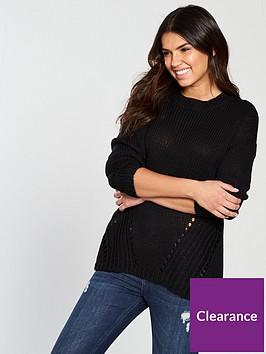 noisy-may-vera-may-long-sleeve-knit-pullover-black