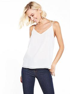 vero-moda-amaze-string-cami-top-snow-white