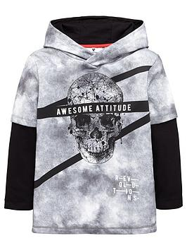 v-by-very-boys-mock-layered-skull-hoodie