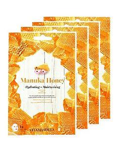 vitamasque-vitamasque-maunka-honey-sheet-mask-box-of-4