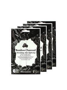 vitamasque-charcoal-sheet-mask-box-of-4