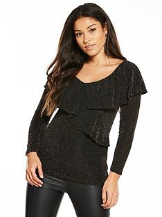 v-by-very-lurex-frill-wrap-top