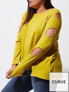 ri-plus-slash-sleeve-jumper