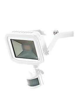 Luceco Luceco Luceco Slim Flood With Pir 15W 5000K 1200Lm 80Lm/W White 1M  ... Picture