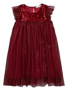 mini-v-by-very-girls-velour-sparkle-mesh-party-dress-merlot
