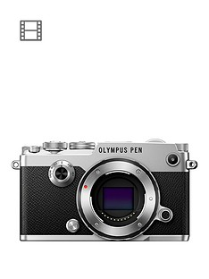 olympus-pen-f-camera-in-silver-withnbsp17mm-18-black-lens-kit-claim-your-free-lens
