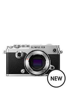 olympus-pen-f-camera-in-silver-withnbsp17mm-18-black-lens-kit