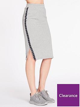 ellesse-exclusive-guardando-midi-skirt-grey-heathernbsp