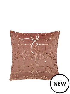 michelle-keegan-metallic-sequin-embroidered-cushion
