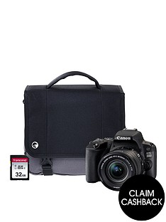 canon-eos-200d-black-slr-camera-kit-including-18-55mm-is-stm-lens-16gbnbspsd-card-and-case