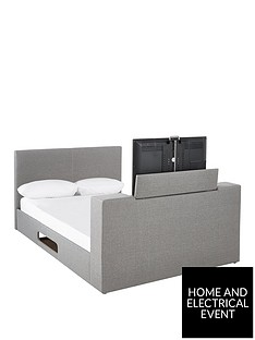 talbot-fabric-double-tv-bed-frame-with-mattress-options-buy-and-save