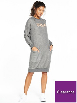 fila-courtney-sweater-dress-grey-marlnbsp