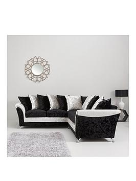 Very Zulu Fabric Corner Group Sofa Picture