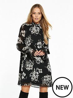 v-by-very-smock-sleeve-tunic-dress
