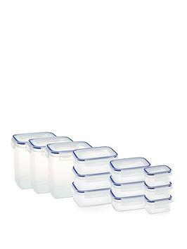 Addis   Clip &Amp; Close 12-Piece Food Storage Container Set