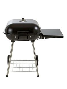 18-inch-square-grill-charcoal-bbq-with-side-table