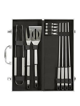 Compare retail prices of 12-Piece Bbq Accessory Set to get the best deal online
