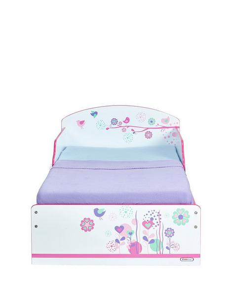 hello-home-flowers-and-birds-toddler-bed