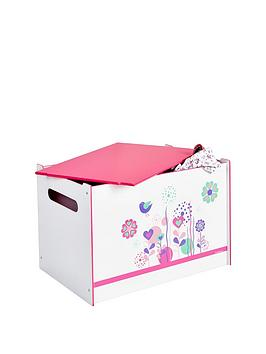 Hello Home Hello Home Flowers And Birds Toy Box Picture