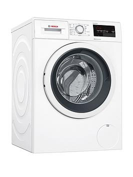 Bosch   Serie 6 Wat28371Gb 9Kg Load, 1400 Spin Washing Machine With Ecosilence Drive&Trade; - White