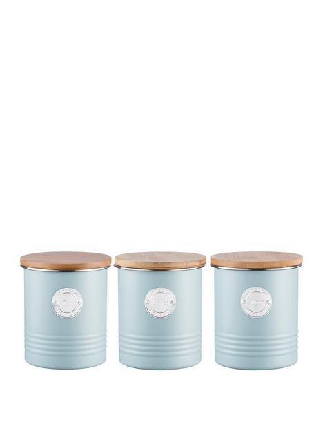 typhoon-living-tea-coffee-and-sugar-storage-canisters-blue