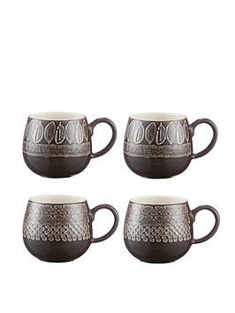 mason-cash-set-of-4nbspimpresssions-mugs