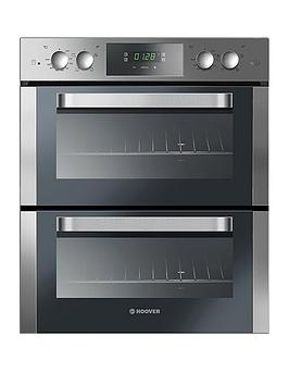 Hoover   H-Oven 300 Ho7D3120In 60Cm Built Under Double Electric Oven  - Oven With Installation