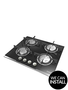 hoover-hgv64sxvb-built-in-60cm-gas-hob-with-optional-installation-black