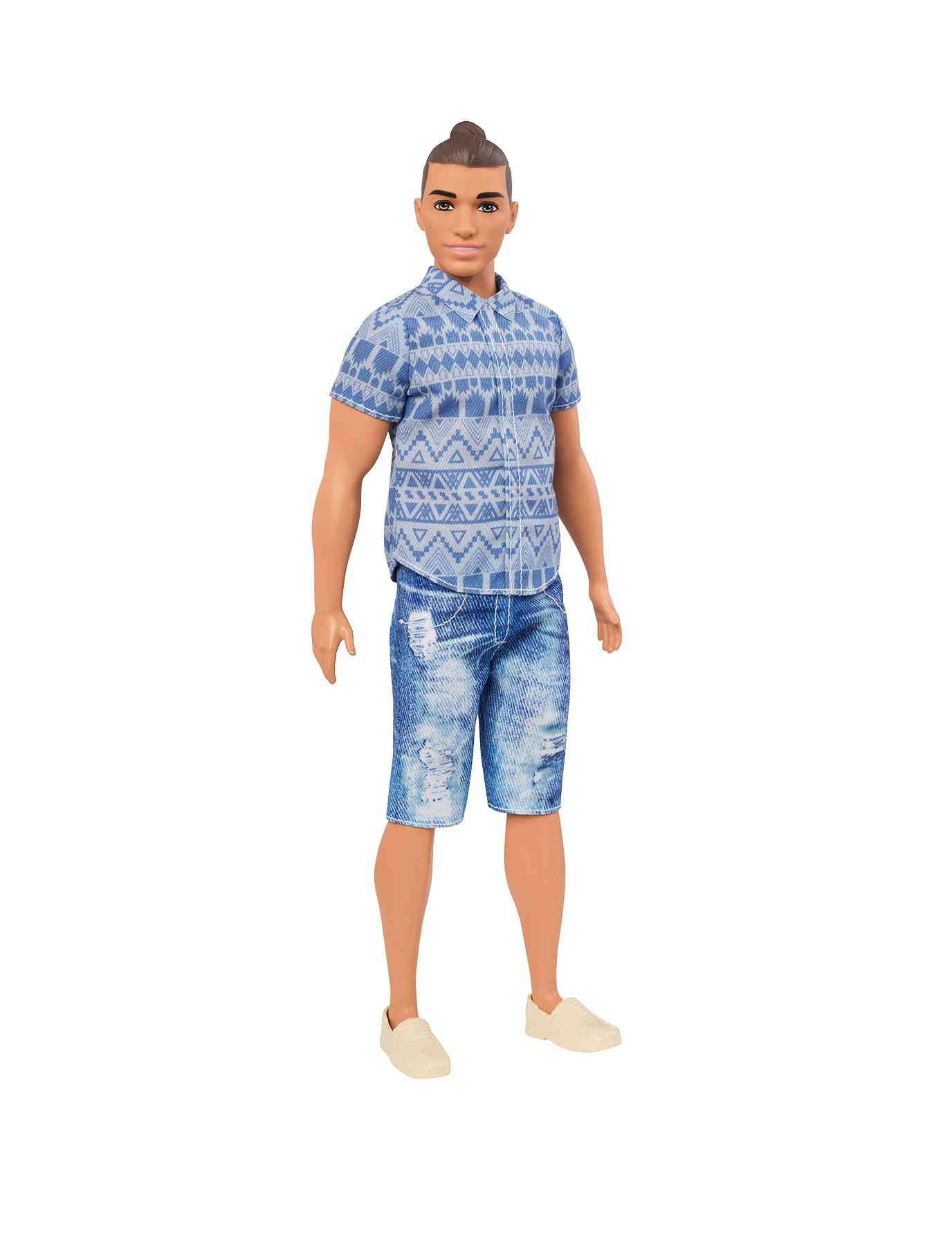 Compare prices for Barbie Ken Fashionistas Distressed Denim Doll