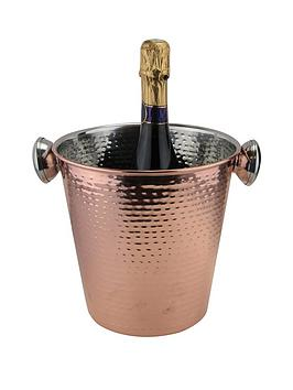 Apollo   Rose Gold Champagne Bucket