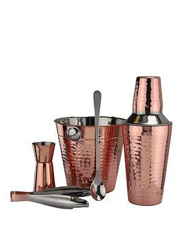 Apollo   Rose Gold Cocktail Set