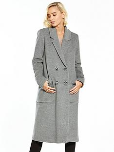 warehouse-warehousenbspsilk-mix-longline-coat