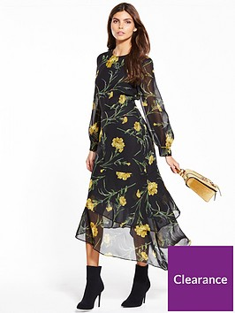 warehouse-carnation-midi-dress