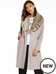 river-island-fur-collar-unlined-coat