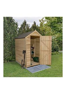 forest-overlap-pressure-treated-6-x-4nbspfoot-apex-shed-no-windows