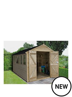 forest-tongue-and-groove-pressure-treated-12-x-8-foot-double-door-apex-workshop