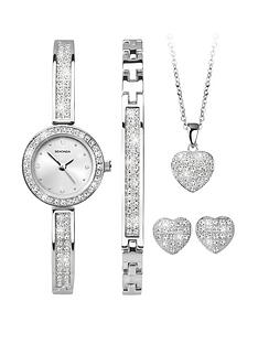 sekonda-sekonda-analogue-rhodium-plated-ladies-gift-set-watch