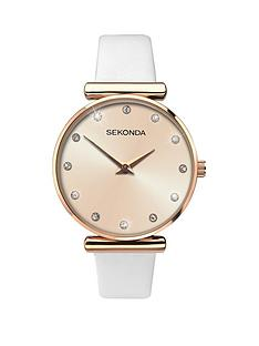 sekonda-sekonda-analogue-stone-set-white-leather-strap-ladies-watch