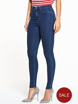 v-by-very-short-addison-high-waisted-super-skinny-jean-indigo